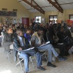 Auditeurs attentifs pendant l'AG